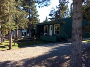 Camping le 4 chemins - chalet de location